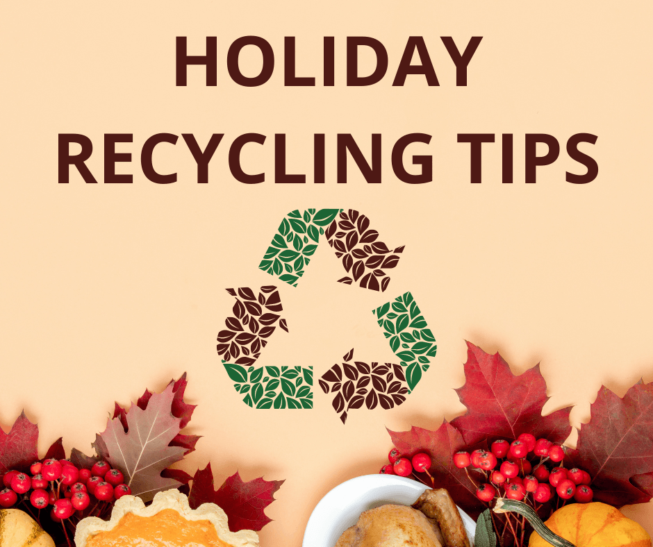 Holiday Recycling Tips - Website